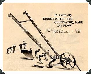 Planet Jr Cultivator How It All Began Hoss Tools
