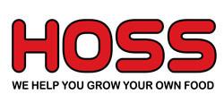 hoss logo red letters