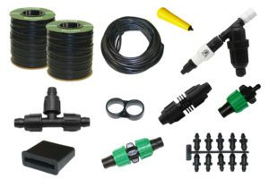 15 mil Drip Tape Irrigation Kit