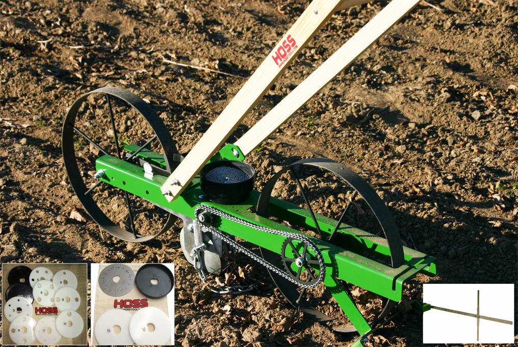Garden Seeder Combo | Hoss Tools | MADE IN THE USA on Backyard Landscape Planner id=95069