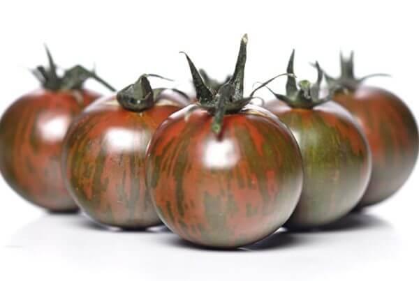 Black Zebra Cherry Tomato