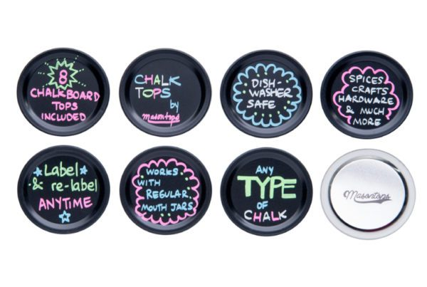 Chalk Top Jar Lids