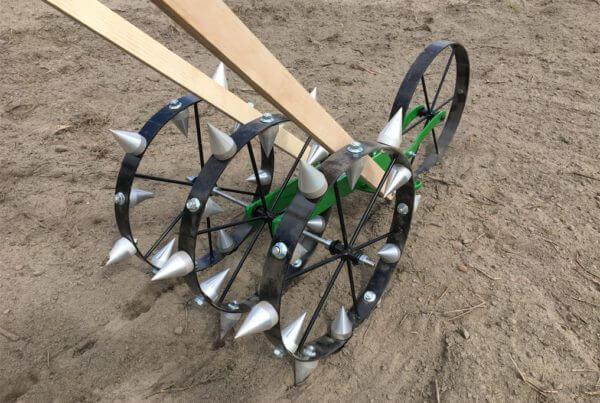 Dibble Wheel Attachment