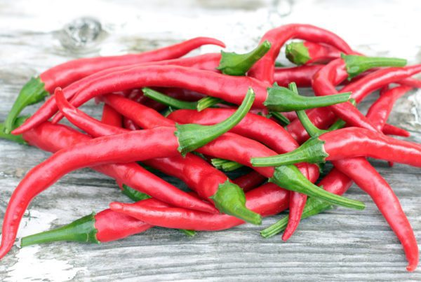 Long Slim Cayenne Pepper