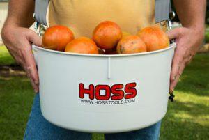 Over-the-Shoulder Harvesting Bucket