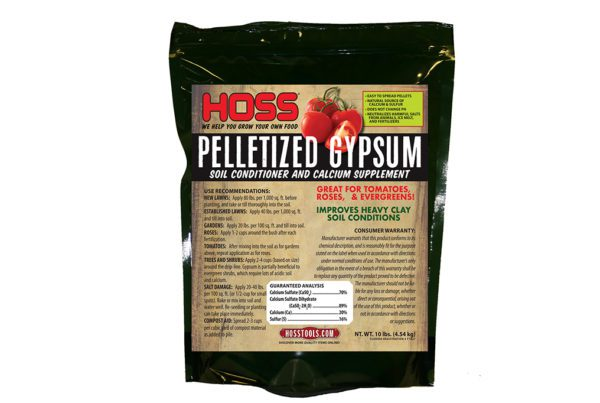 Pelletized Gypsum Soil Conditioner