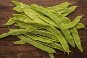 White Emergo Runner Bean