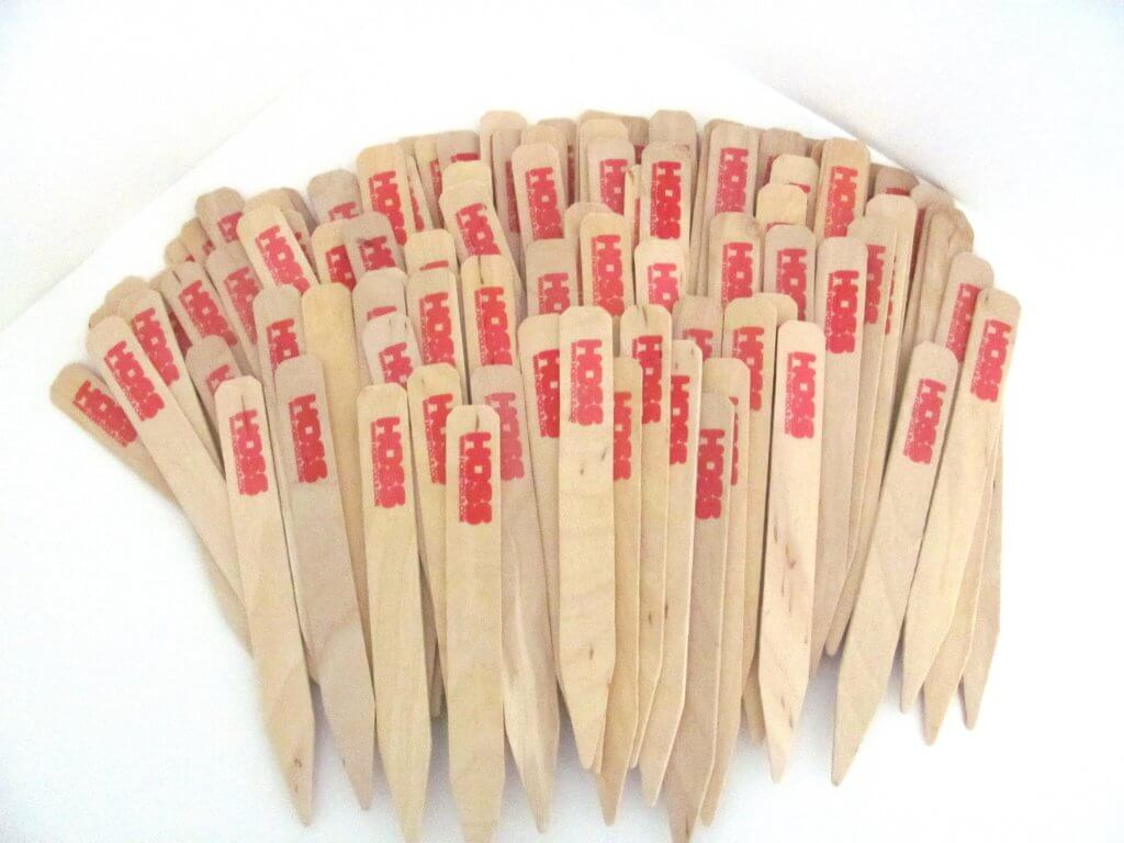 Wood Garden Labels