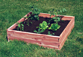 Grow Your Own Food Anywhere With This Weather Resistant, Cedar Raised Bed Garden  Kit! The Simple Tongue And Notch Design Assembles Easily Without Tools And  ...